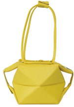 Yellow Small Transforming Origami Bag