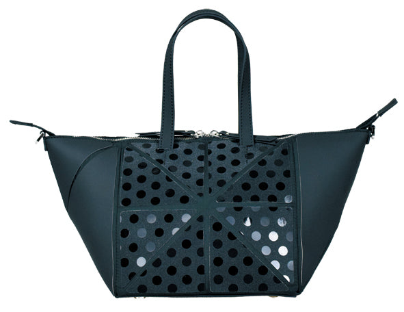 Alcor Small Polka Dot Handbag