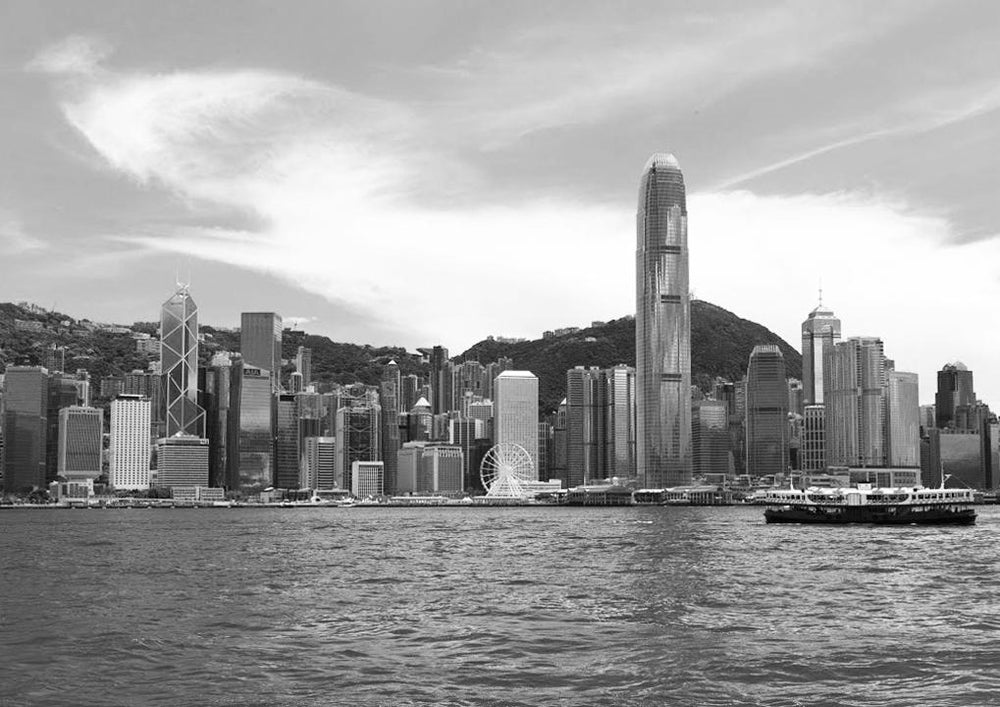 Farewell My HK Victoria Harbour Framed Picture