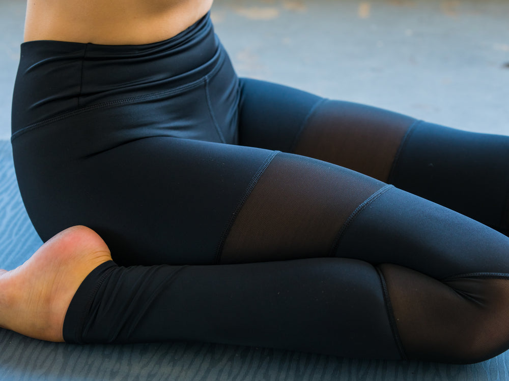 Black High Waisted Yoga Pants