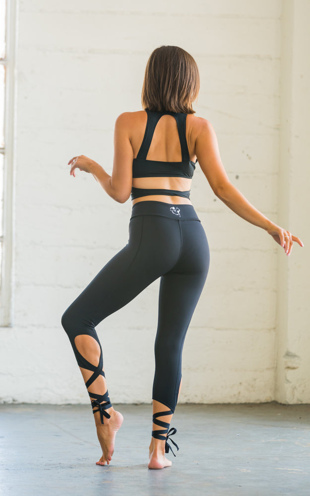 Flexi Lexi Fitness Dancer Leggings Black