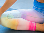 Rainbow Design High Waisted Yoga Pants