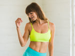 Quick-dry Sports Bralette Neon Yellow