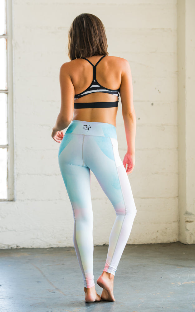 Colorwash High Waisted Yoga Pants