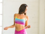 Quick-dry Sports Bralette Rainbow