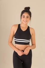 Flexi Lexi Fitness Pandora Sleeveless Yoga Crop Top with Removable Pads