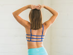 Quick-dry Sports Bralette Blue