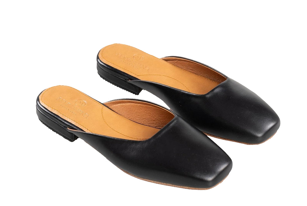 Womens Mod Flats Leather Shoes
