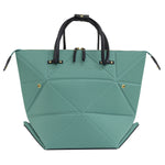 Women's Large Green Origami Transforming Bag