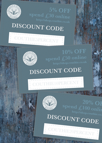Couthie Discount Codes