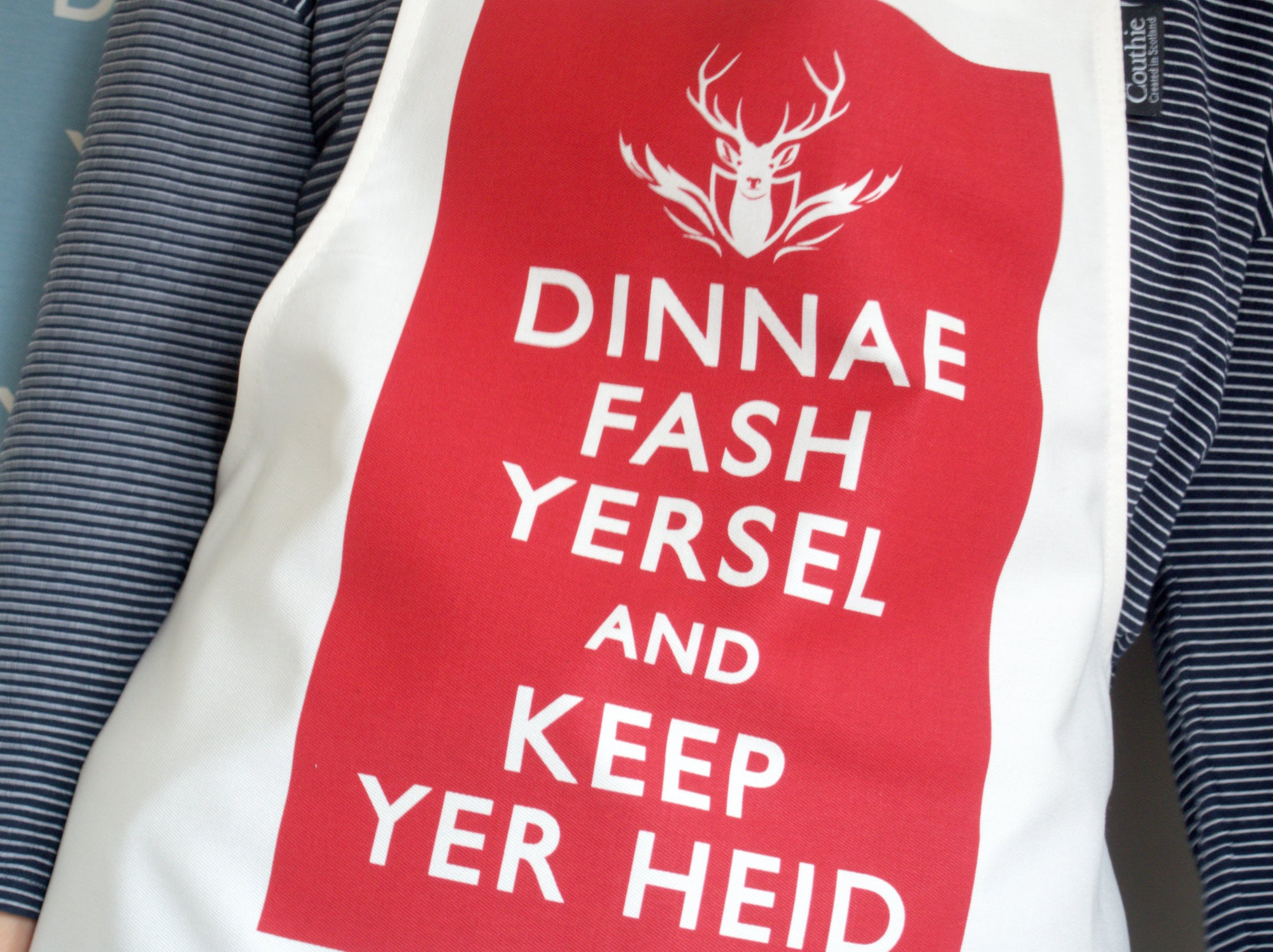 Dinnae Fash Yersel and Keep Yer Heid - Classic Collection Cotton Drill Aprons