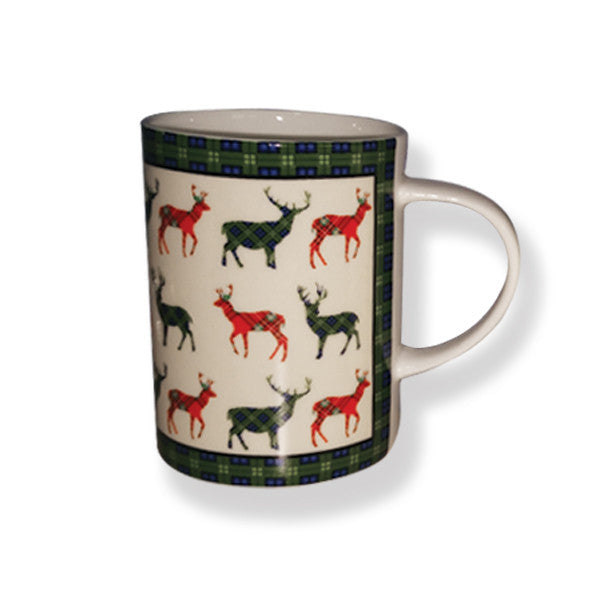 Stag Bone China Mug