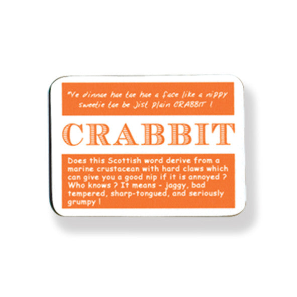 Crabbit Coaster pack of 2
