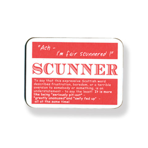 Scunner Coasters - 2 Pack