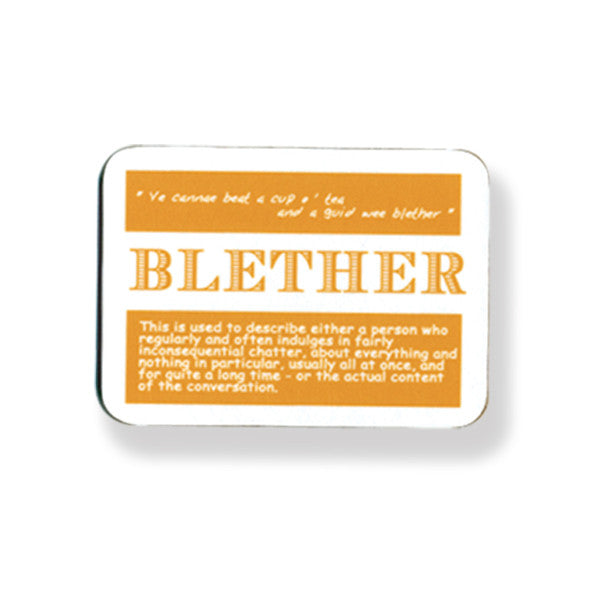 Blether Coaster - 2 pack