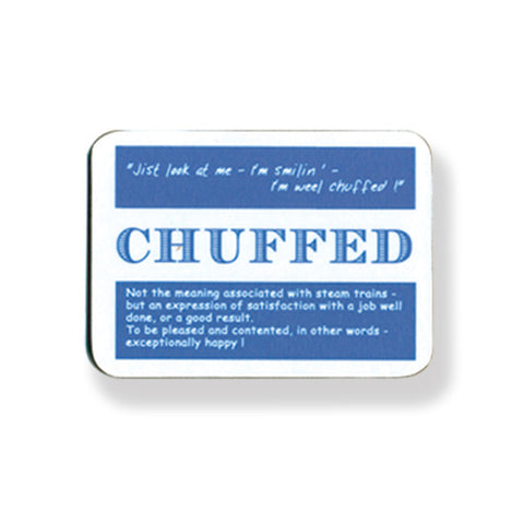 Chuffed Coasters - 2 Pack