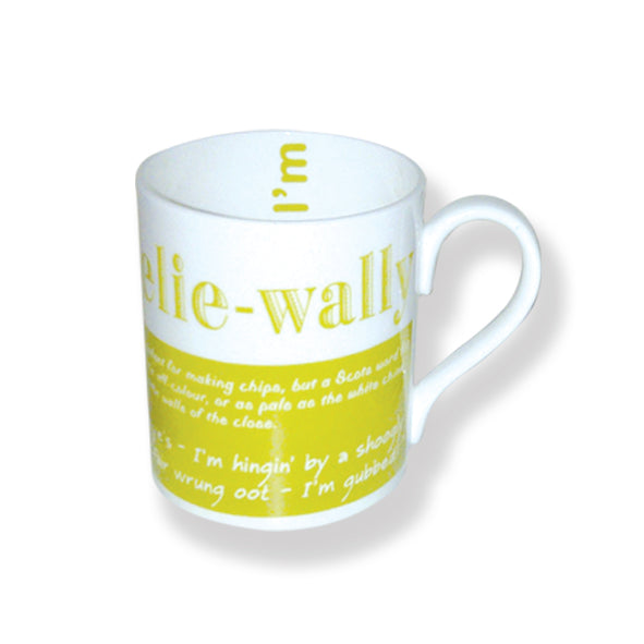 Peelie Wally Bone China Mug