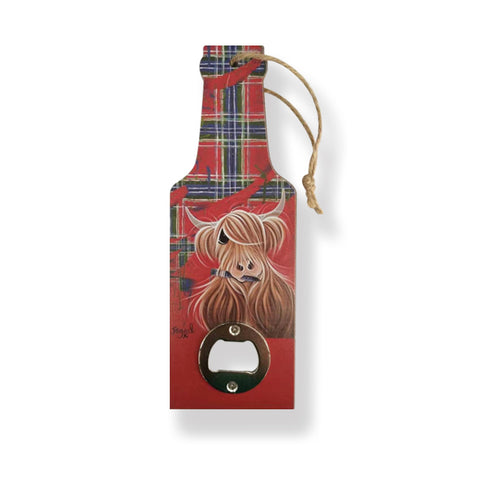 McMoo Tartan Paint Bottle Opener (BOTTP)