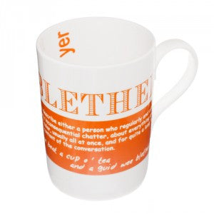 Blether Bone China Mug