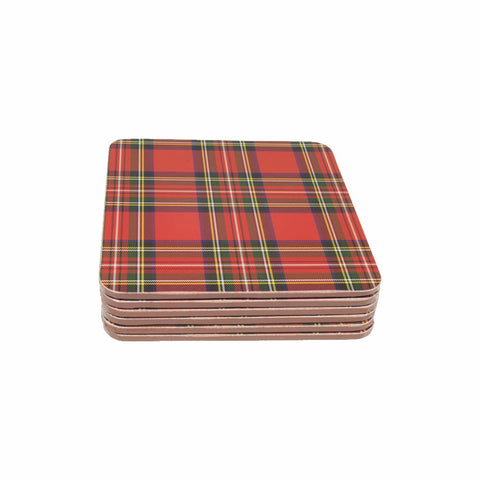 Royal Stewart Coaster Set of 6