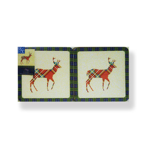 Stag Coaster Set of 6