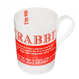 Crabbit Bone China Mug