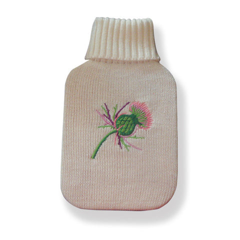 Thistle Hot Water Bottle Set - 500ml