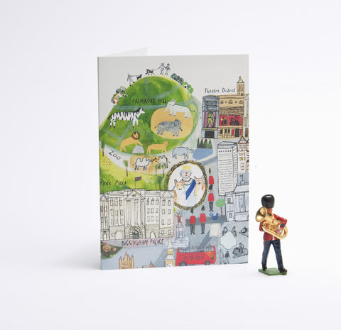 London Mapped Out Card