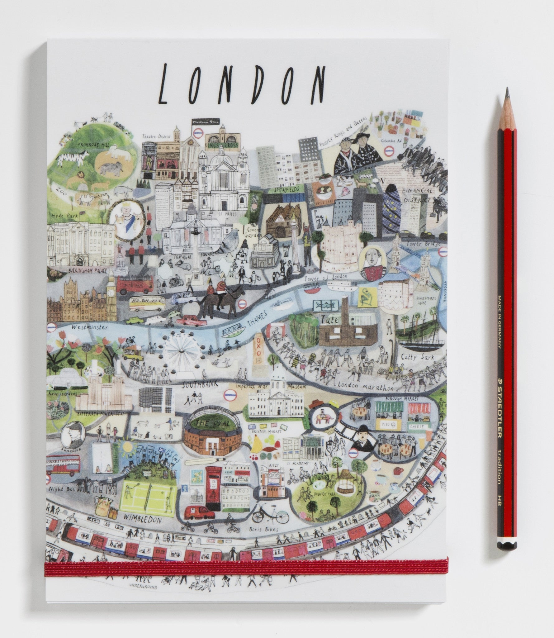 London Mapped Out A5 Notebook