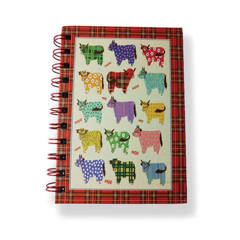Highland Cow A6 Notebook & Pen