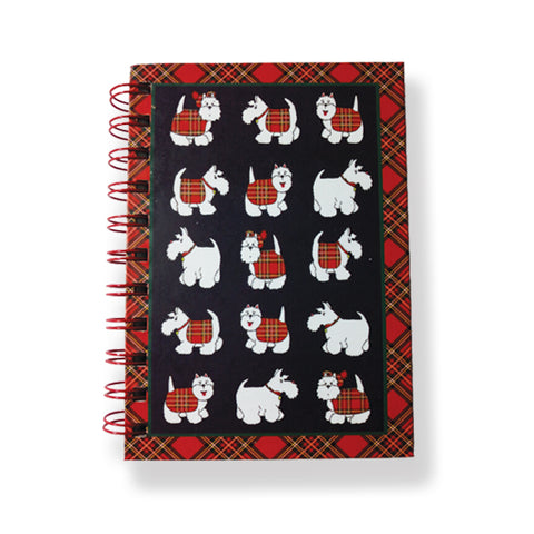 Tartan Terrier A6 Notebook (NB01TT)