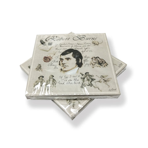 Robert Burns Paper Napkins (PN01RB)