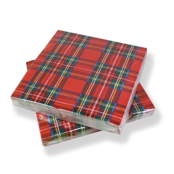Royal Stewart Paper napkins (20)