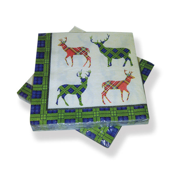 Stag Napkins Pack (20)