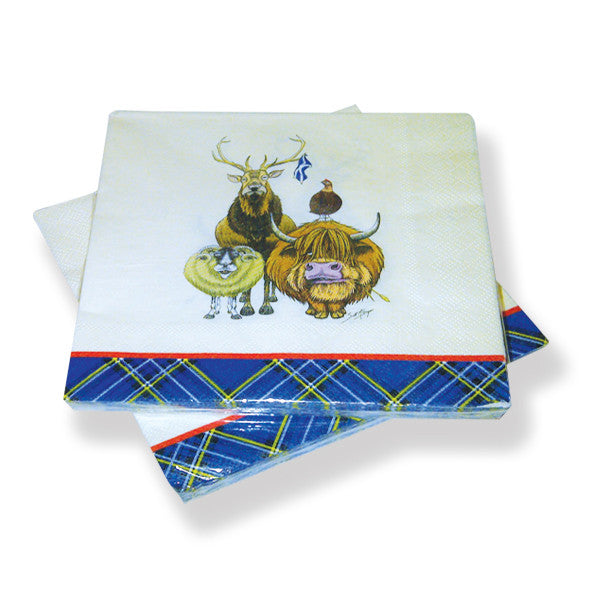 Welcome To Scotland Paper Napkins (20)