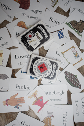 Traditional Scots Language Card Game -  Scottish Pairs