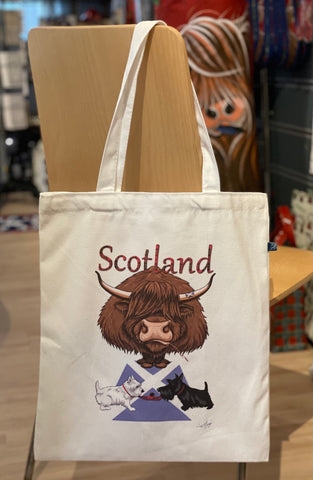 Scotland Cotton Shopper Bag (SCOBAG)