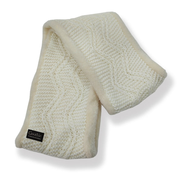 Infinity Cosy Scarf White (SCRWH)