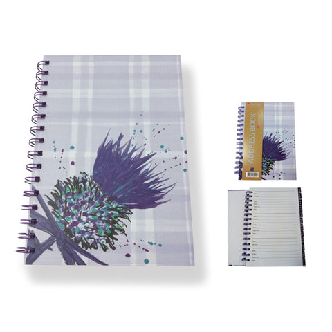 Thistle Address Book by Scott Inness