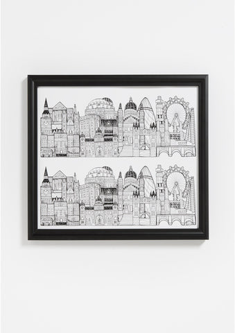 Sightlines London Print