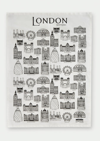 Sightlines London - Tea Towel