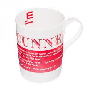 Scunner Bone China Mug