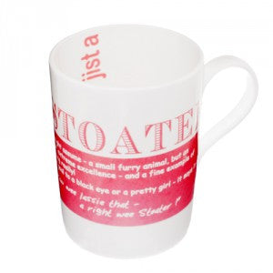 Stoater Bone China Mug