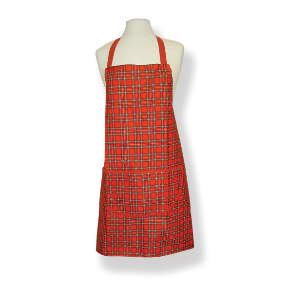 Royal Stewart Cotton Drill Apron