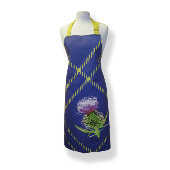 Thistle Blue Cotton Drill Apron