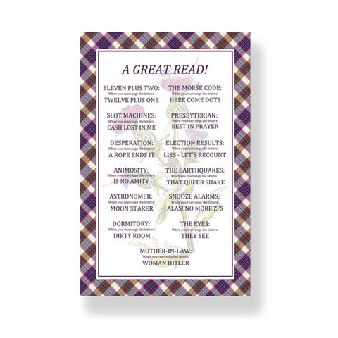 Great Read Cotton Tea Towel