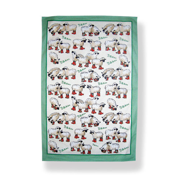 Puddle Jumper Cotton Tea Towel
