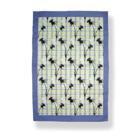 Thistle Cotton tea towel