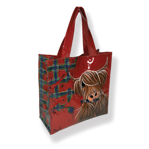 McMoo Highland Cow PVC Bag (T40TP)