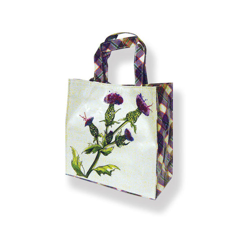 Wild Thistle PVC Shopping bag